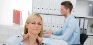 Nackenschmerzen und Schwindelgefühl